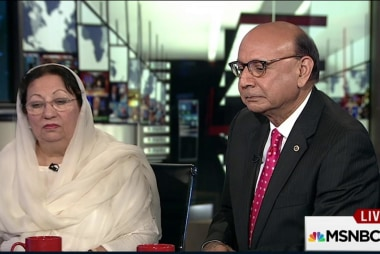 Khizr Khan: U.S. flag 'means so much to me'