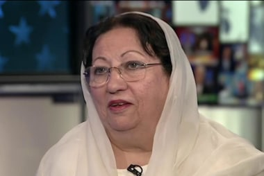 Ghazala Khan: 'I was very proud'