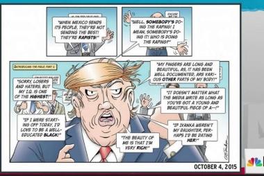 Doonesbury's Garry Trudeau saw Trump coming