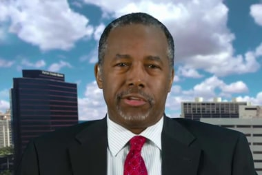 Carson: Trump needs to stay focused on issues