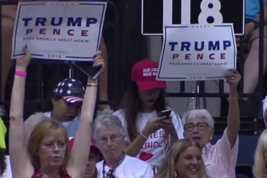 Presidency is Trump's 'race to lose'