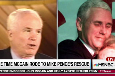 Trump camp a series of indignities for McCain