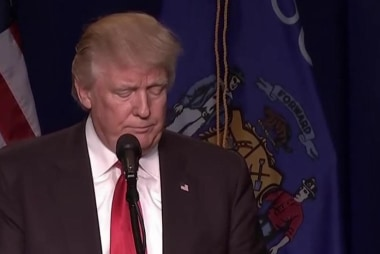 Will voters dump Trump after latest...