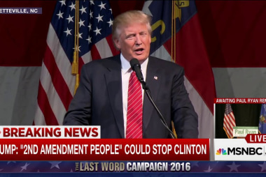 Trump: '2nd Amendment People' Could Stop...