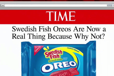 Oreo has a fishy new flavor