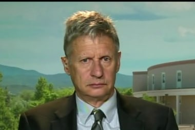 Can Gary Johnson break through?