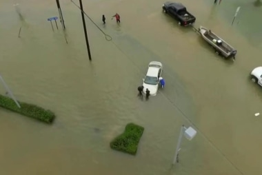 Louisiana resident: 'The water just keeps...