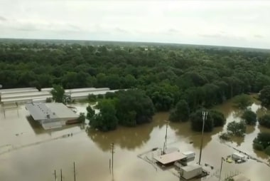 Historic flooding sweeps parts of Louisiana