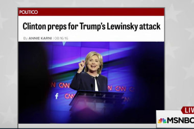 Clinton prepping for Lewinsky attacks