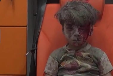 Will the image of the Syrian boy change...