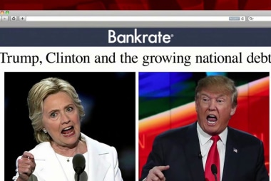 How Clinton, Trump rank on federal debt