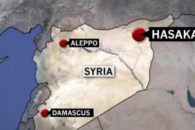 U.S. scrambles fighter jets in Syria