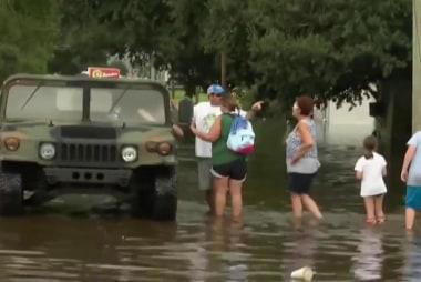 Louisiana flood damage still being assessed