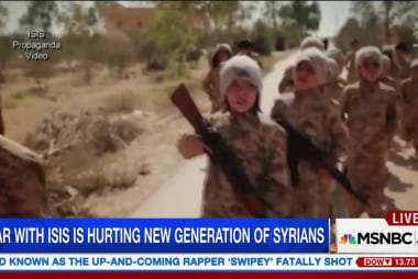 Millions of children trapped in Syrian clash