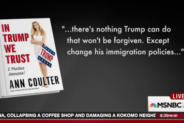 Ann Coulter's no good, very bad day