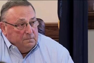 Maine's Gov. under fire over obscene...