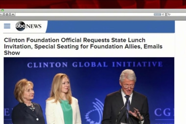 Emails show State Dept., Foundation...