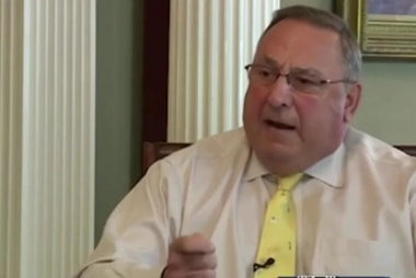 Maine's governor in hot water after voicemail