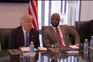 Trump 'pretending' to hear Black community?
