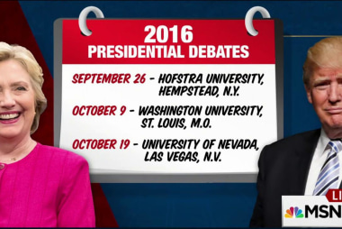 How Clinton, Trump are preparing for debates