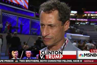 Trump goes after Weiner