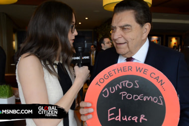 Don Francisco Stresses the Value of Education