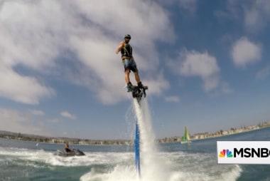Water Jetpacks: This business has taken off
