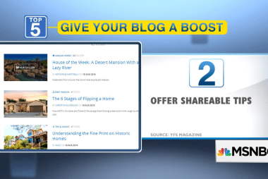 Top five: 5 ways to boost your blog