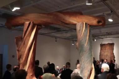 Mka's mother has new art show in Virginia
