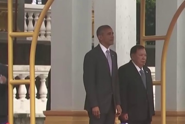 President Obama makes historic trip to Laos