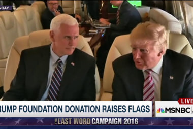 Questions about Trump Foundation Donation