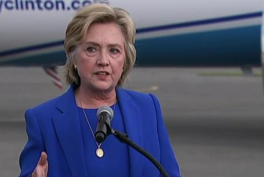 Clinton holds first podium presser in 278...