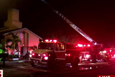 Officials say mosque fire was intentional