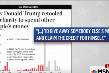 WaPo: Trump Foundation 'not like other...