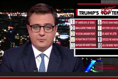 Trump's Last Ten
