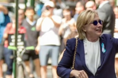 Will Clinton pay for time off the trail?