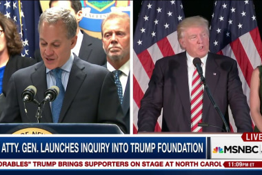 Team Trump reacts to charity probe by NY AG
