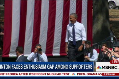 Will Pres. Obama's popularity help Clinton?