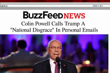 Colin Powell calls Trump 'disgrace' in emails