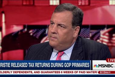 Gov. Christie on Trump's health & tax returns
