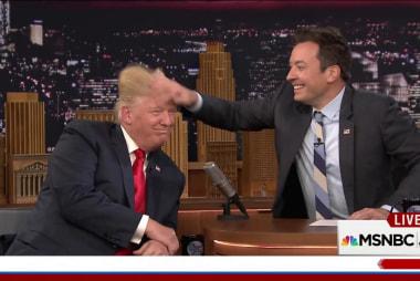 TIME: Trump top target for late night comics