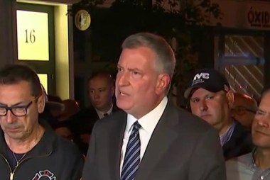 NYC mayor: Explosion was an 'intentional act'