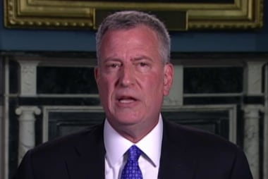 NYC mayor: Could be lone wolf or something...