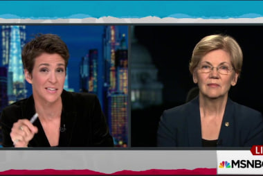 Warren emphasizes need for Democratic Senate