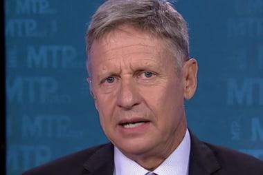 Johnson: 'I'm Leading Among Independents'