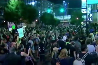 Calm as Charlotte curfew expires