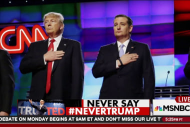 Never say #NeverTrump