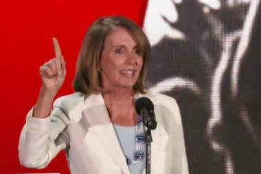 Pelosi: 'Know your power to drive change'