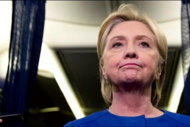 Is there more pressure on Hillary Clinton?