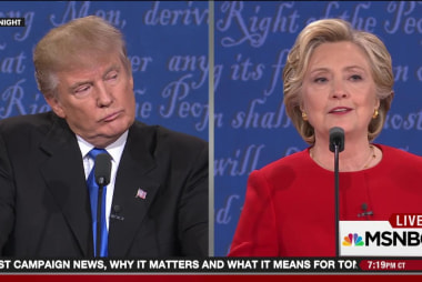 Trump walks right into Clinton's debate trap